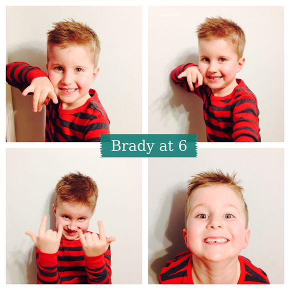 Friday five -Brady Edward edition